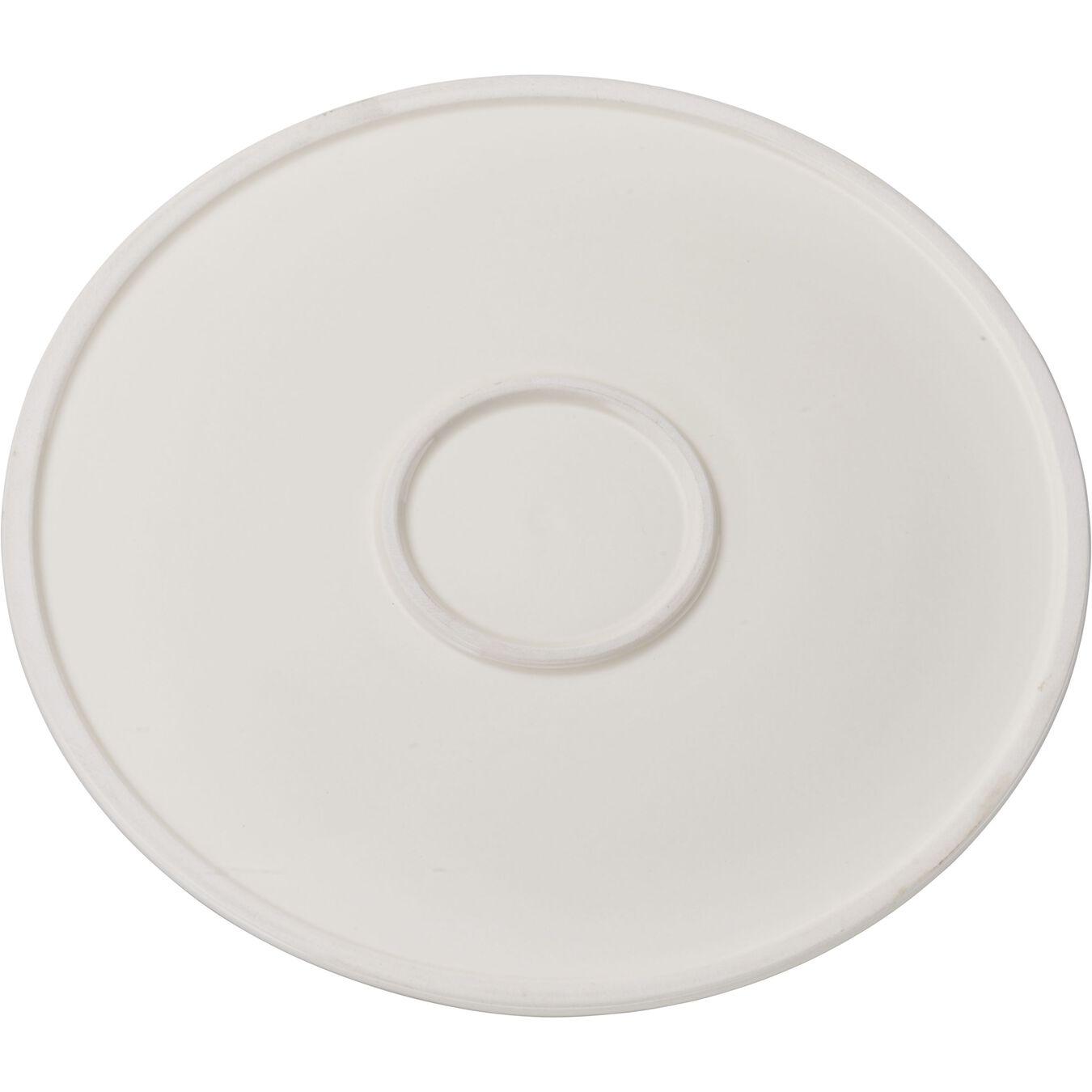 round, Panini press, cream,,large 2