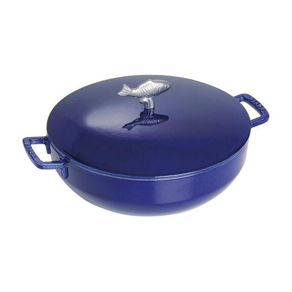 28-cm-/-11-inch Cast iron Bouillabaisse pot,,large 2