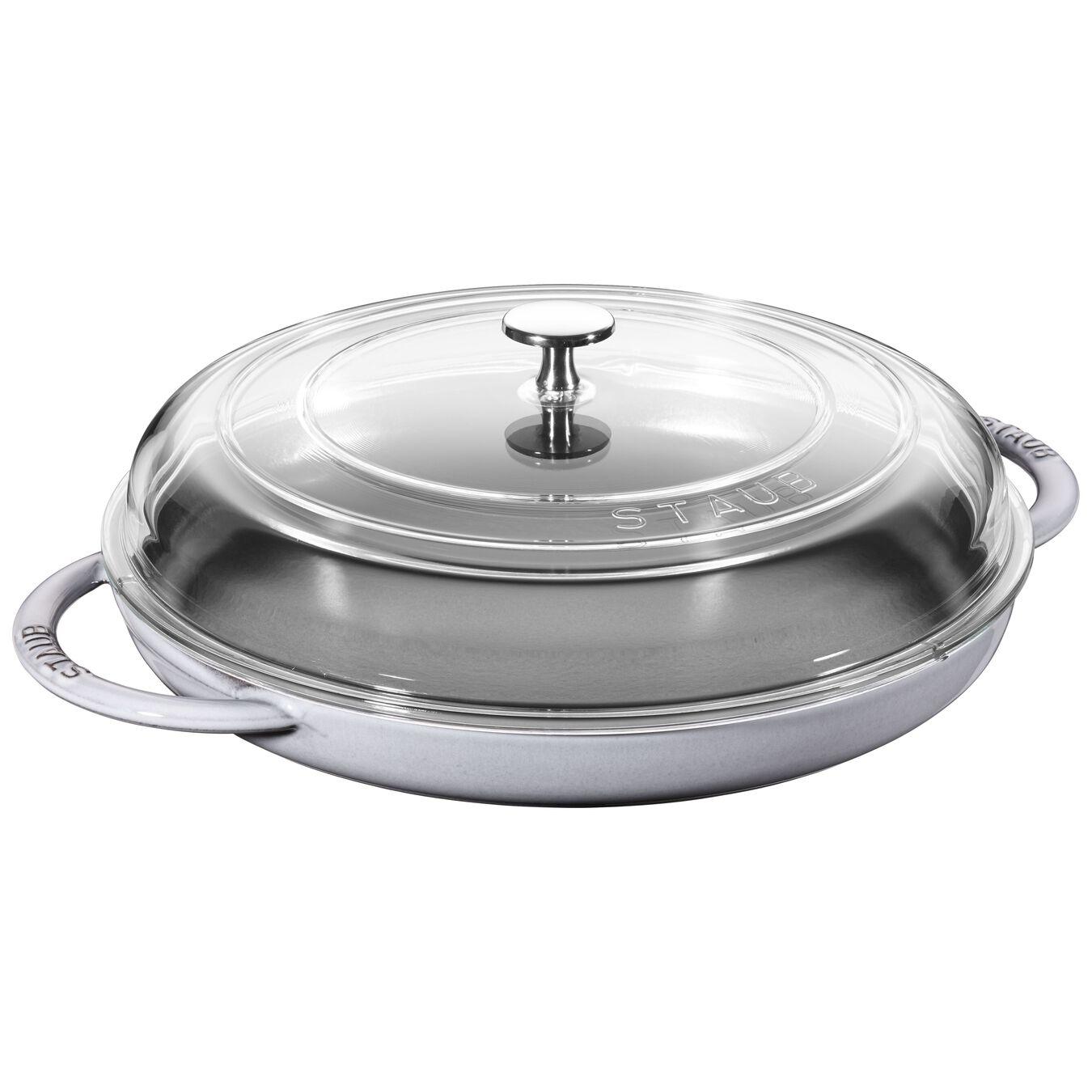 12-inch Round Steam Griddle - Graphite Grey,,large 1
