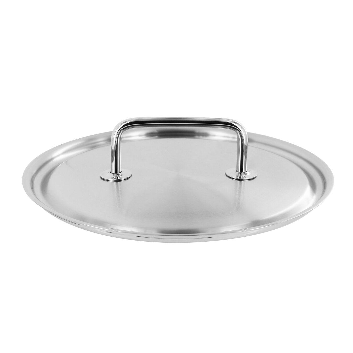 Lid, 28 cm | round | 18/10 Stainless Steel,,large 1