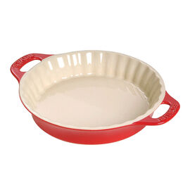 Staub Ceramics, 9-inch Pie Dish - Cherry