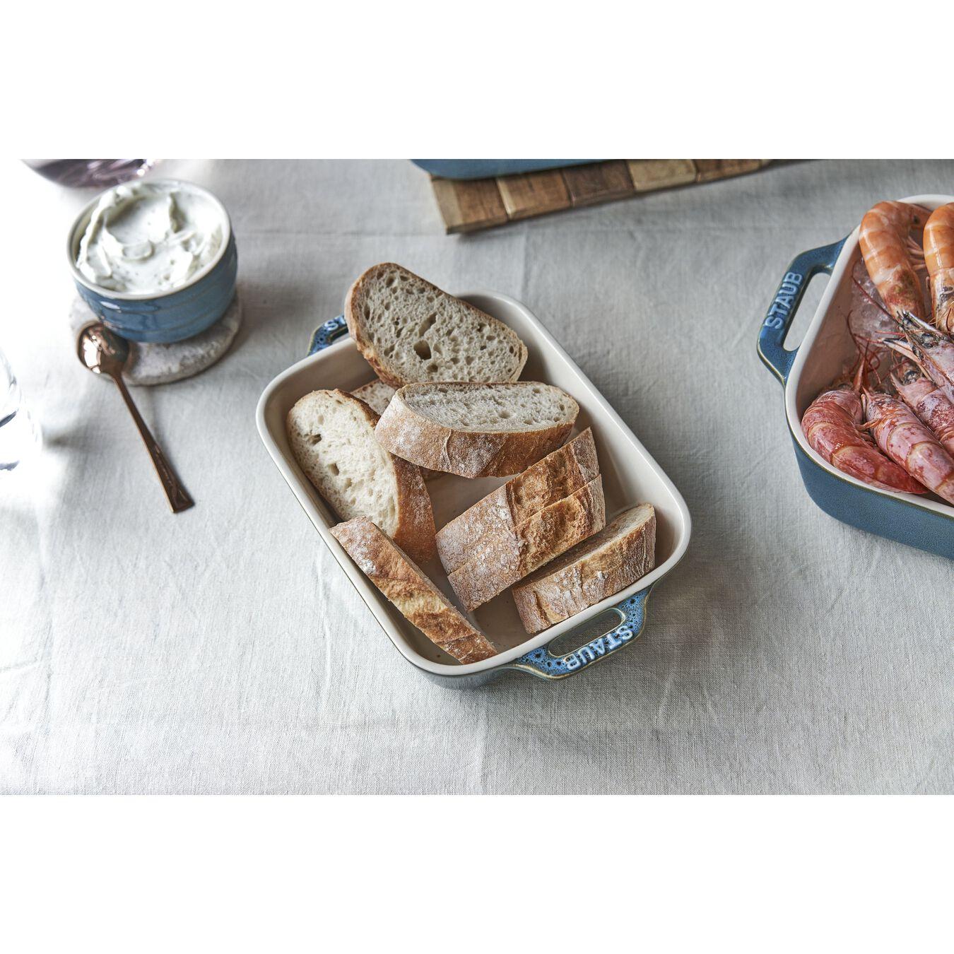 3-pc, Rectangular Baking Dish Set, rustic turquoise,,large 5