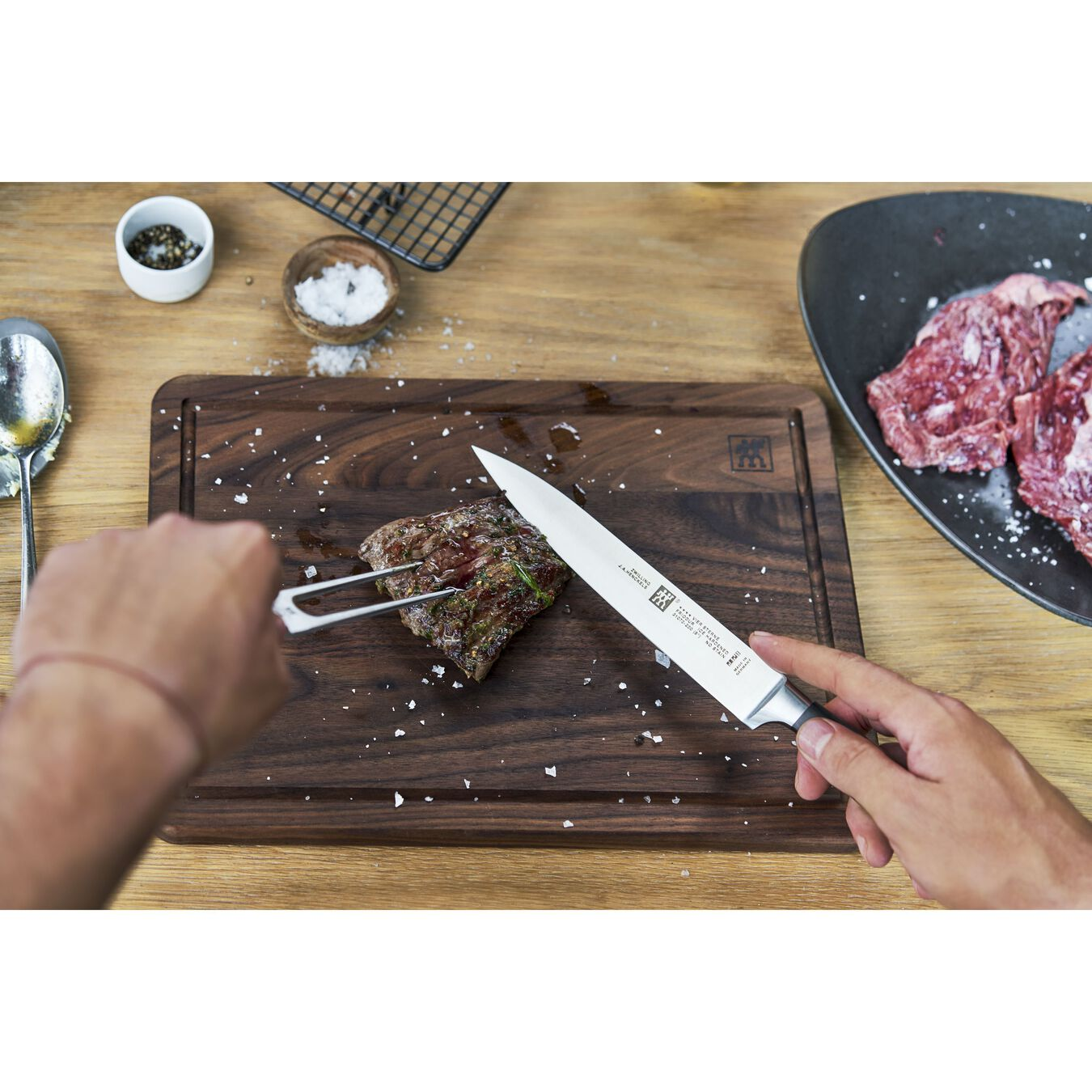 2-pc Carving Knife & Fork Set,,large 4