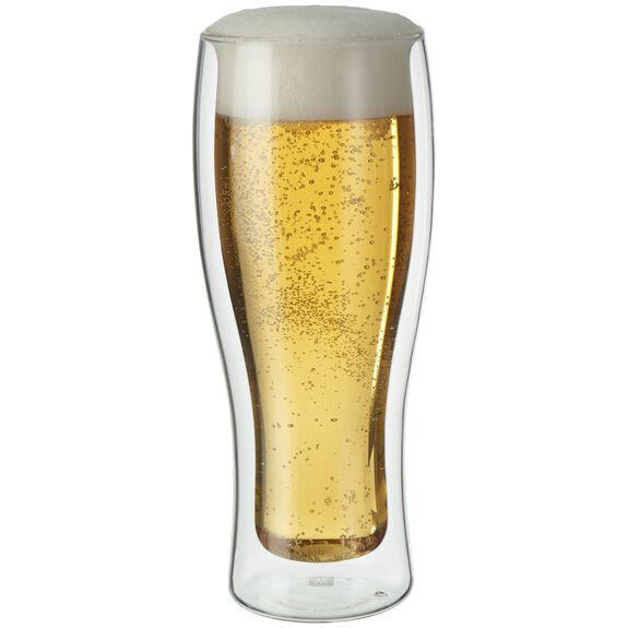 2-pc Double-Wall Beer Glass Set,,large