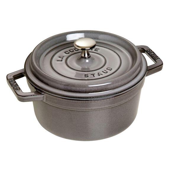2.75-qt round Cocotte, Graphite Grey,,large