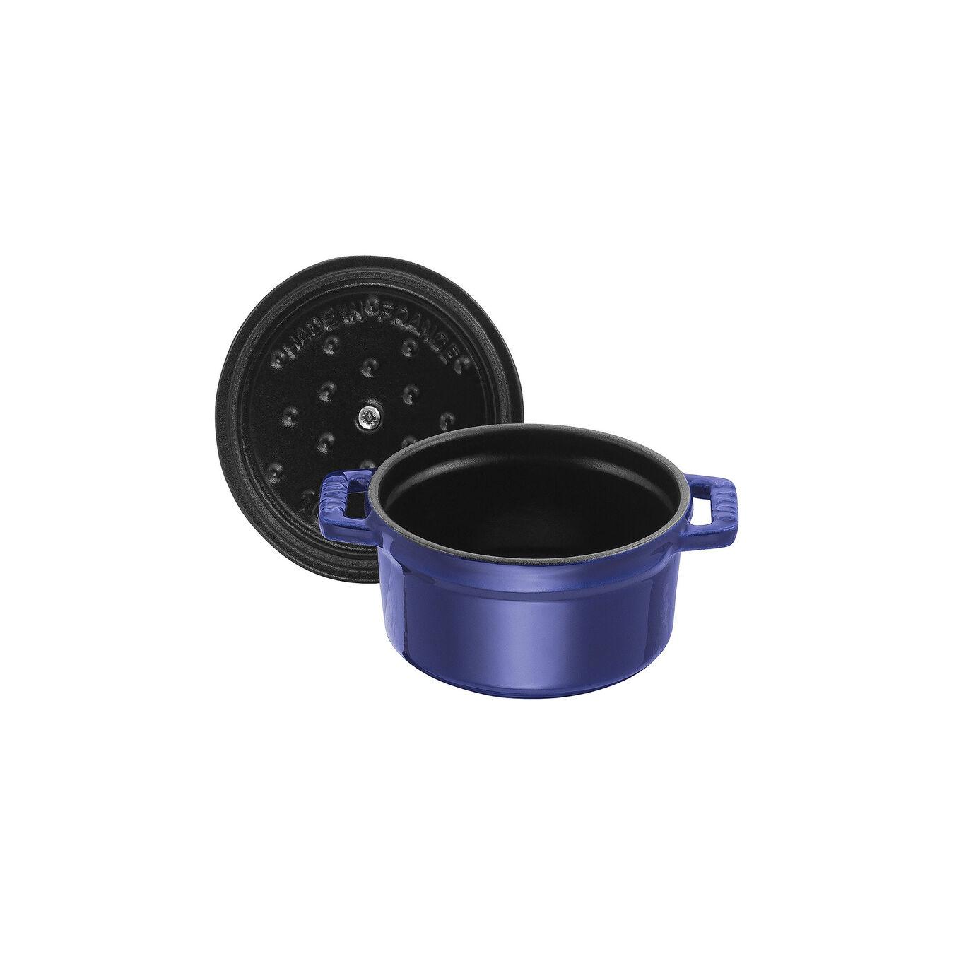 0.275 qt, Mini Cocotte, dark blue,,large 4
