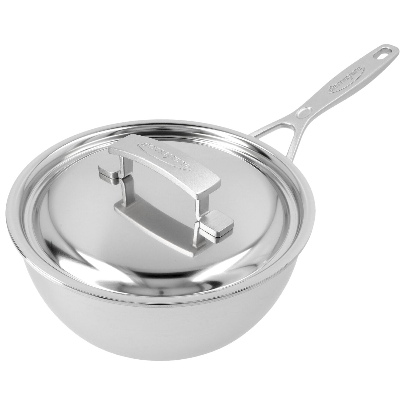 2.25 qt Sauteuse conical, 18/10 Stainless Steel ,,large 5