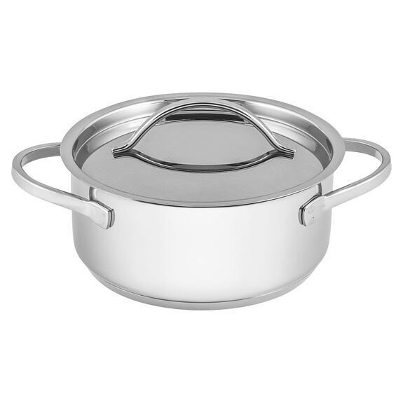 4-pc Stainless Steel Mini Dutch Oven Set,,large
