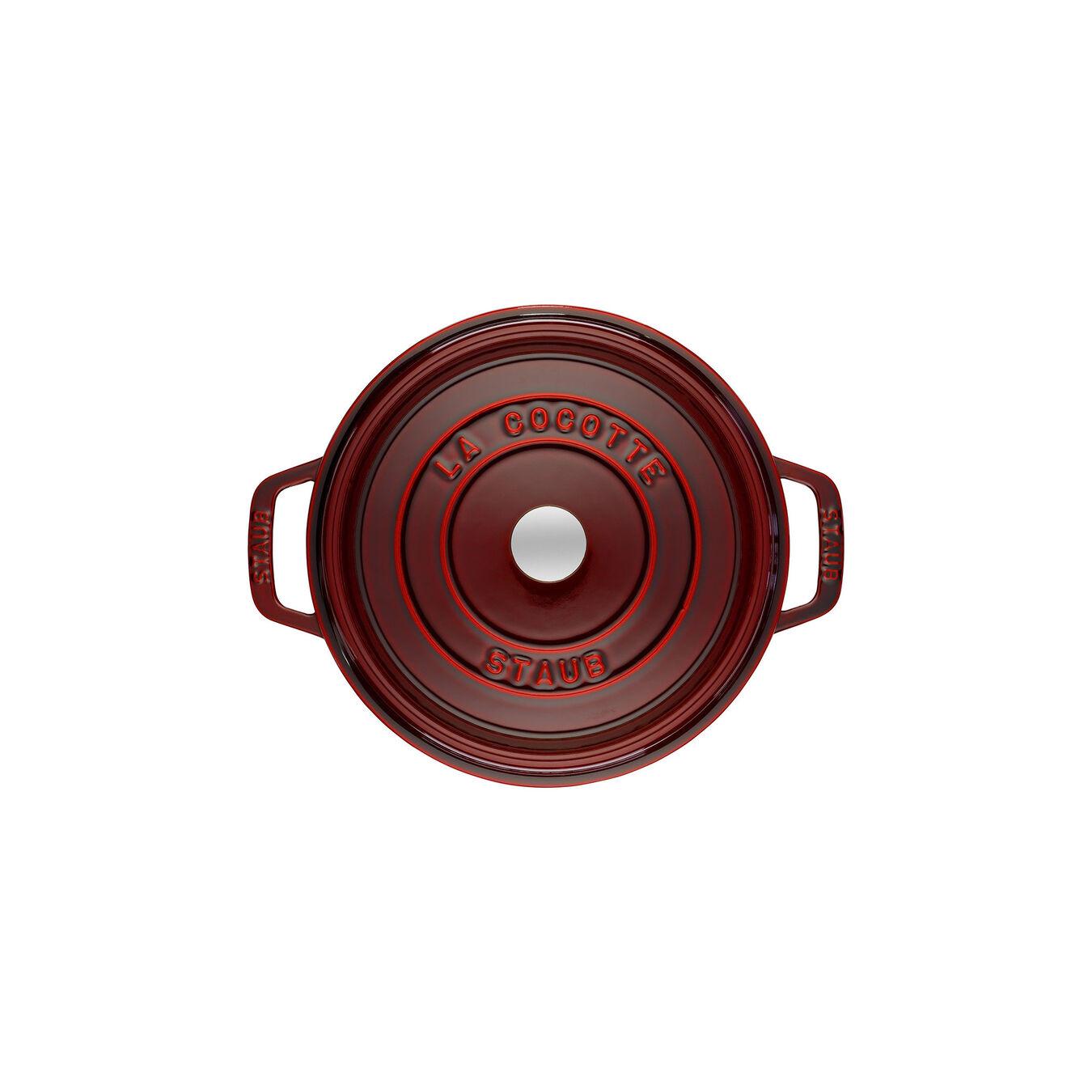 Cocotte rotonda - 22 cm, granatina,,large 2