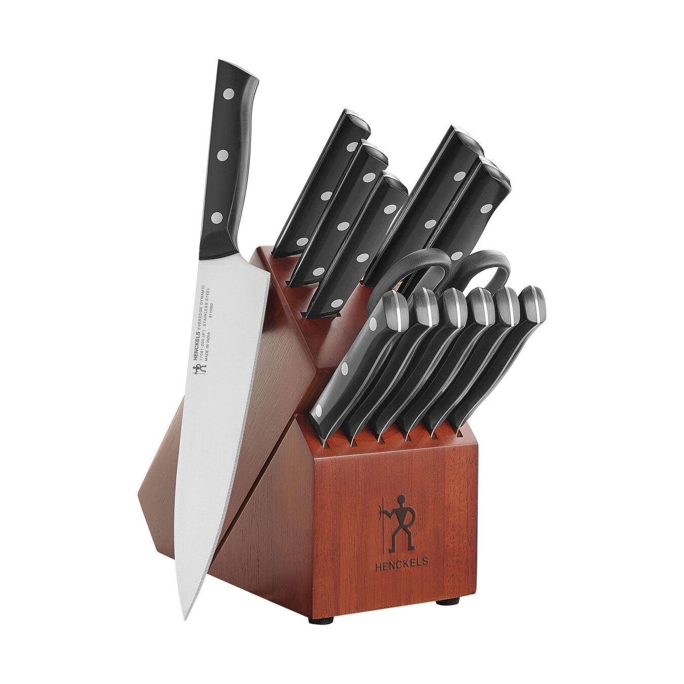 14-pc Knife block set ,,large 1