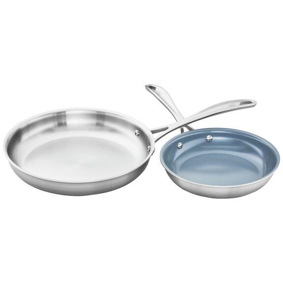 2-pc  Frying pan set,,large 2