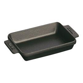 Staub Cast Iron, 5.75-inch x 4.5-inch Mini Rectangular Baker - Matte Black