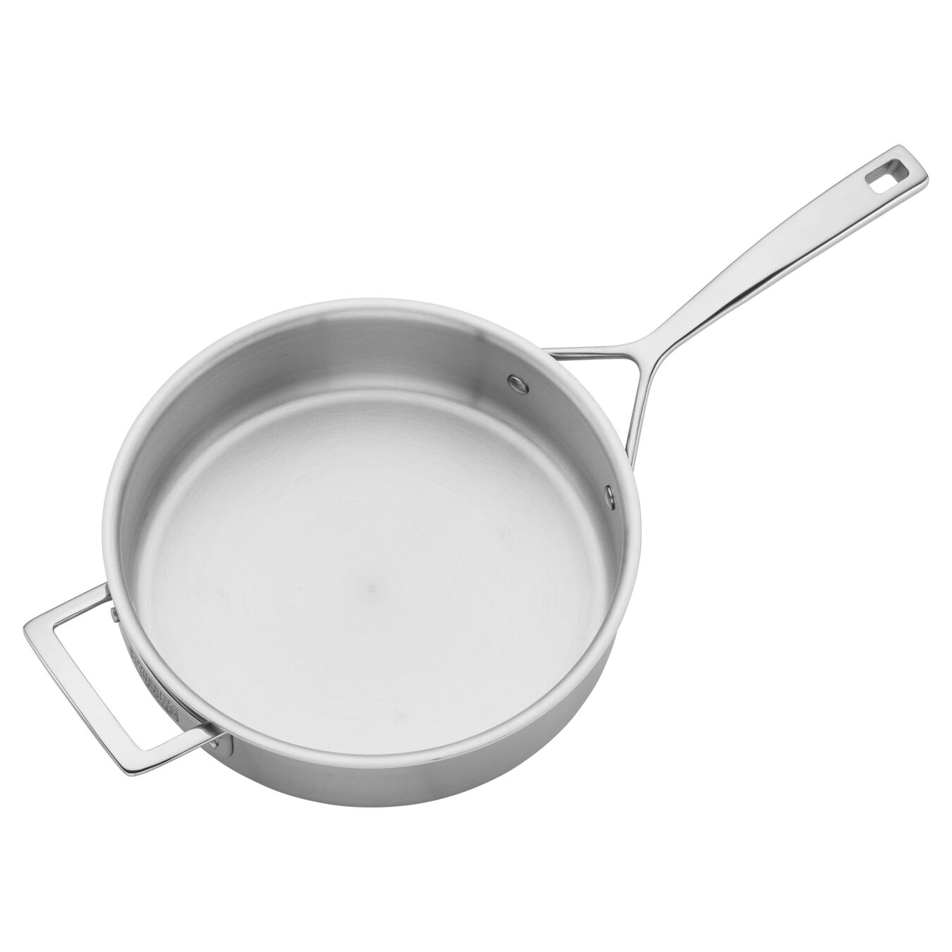 5 Ply, 18/10 Stainless Steel, 9.5-inch, Saute pan with lid,,large 5