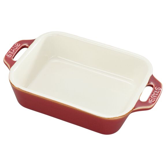 Ceramic Special shape bakeware, Red,,large 2