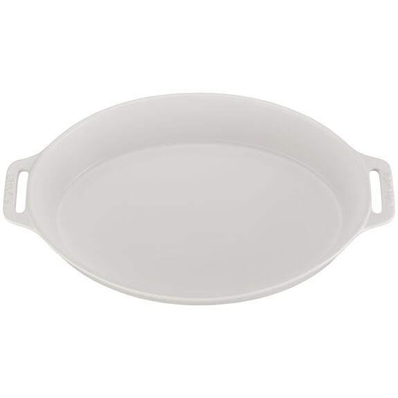 14.5-inch Oval Baking Dish - Matte White,,large