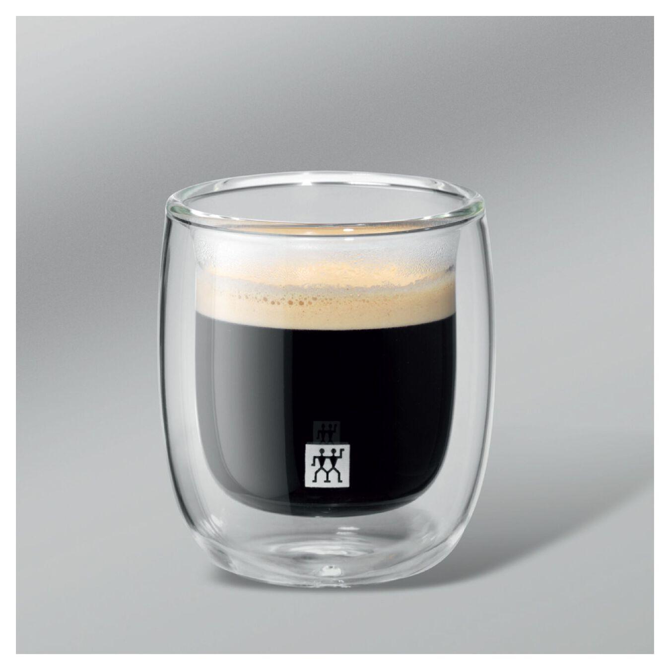 2 Piece Double-Wall Espresso Glass Set,,large 3