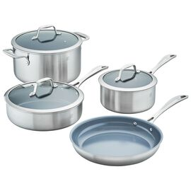 ZWILLING Spirit Ceramic Nonstick, 7-pc  Pots and pans set