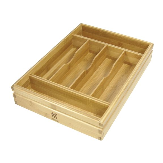 Bamboo Flatware Storage Tray,,large