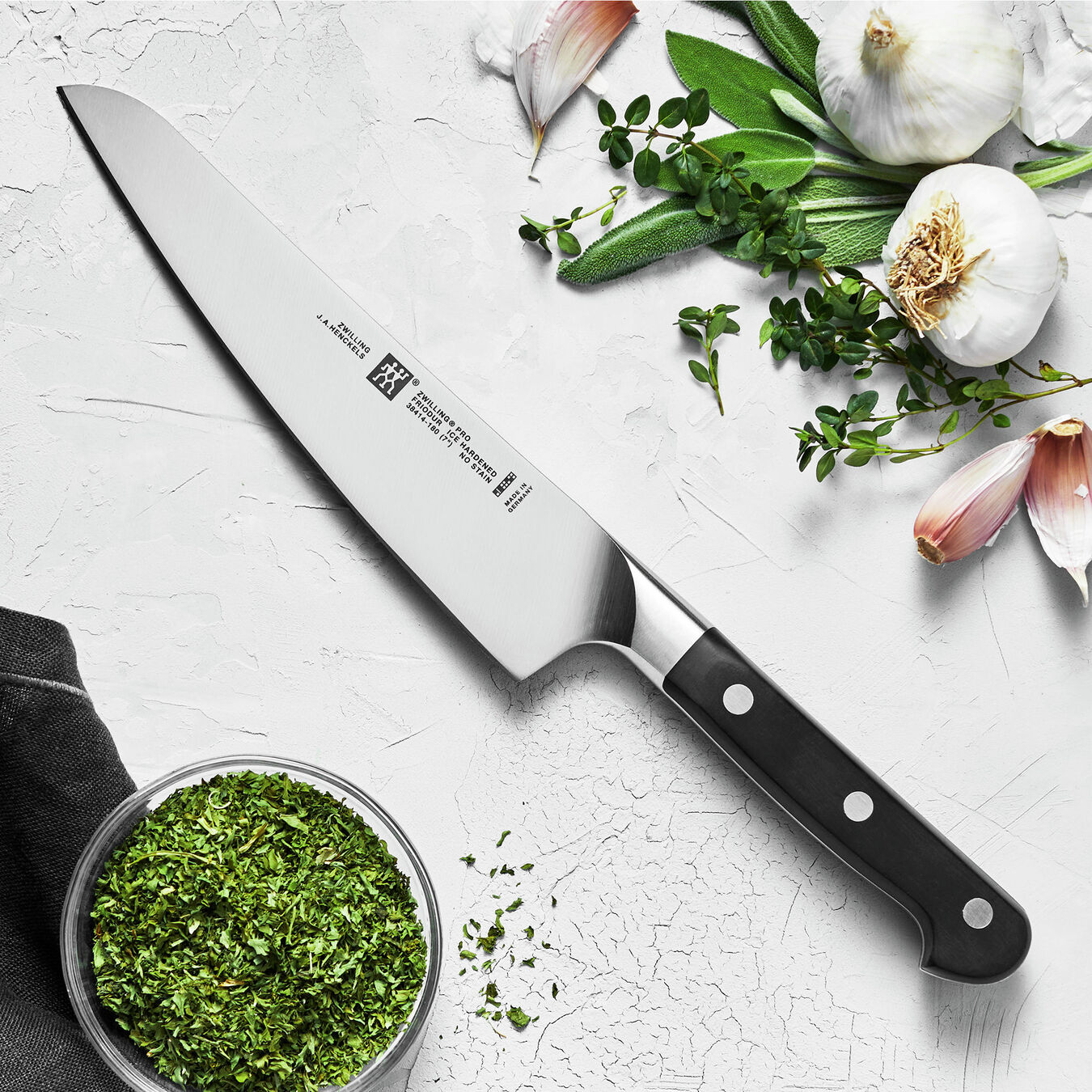 7-inch Chef's knife compact, Fine Edge ,,large 2