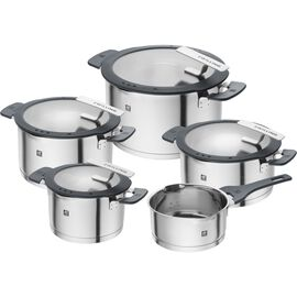 ZWILLING Simplify, Pot set, 5 Piece | round | stainless steel