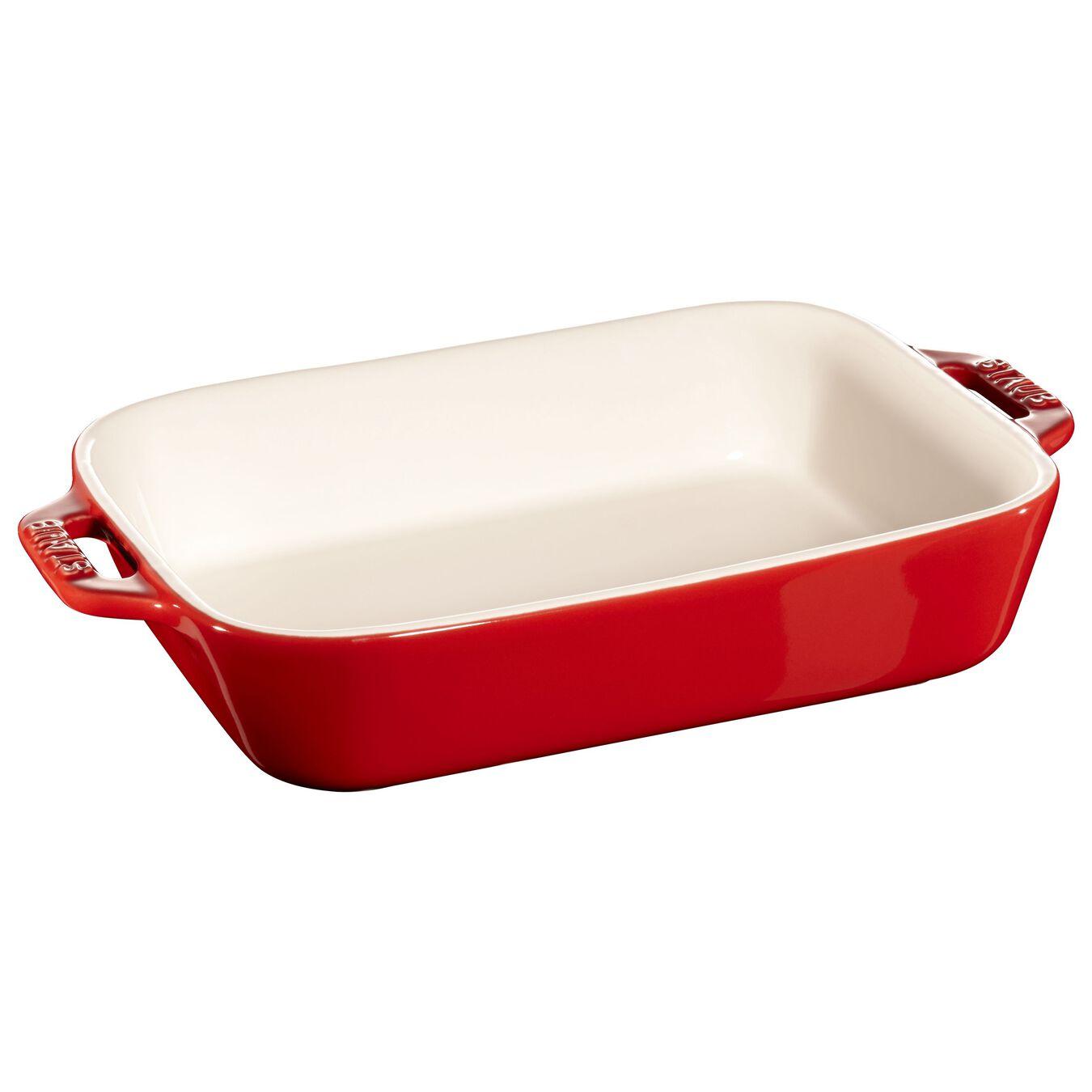 rectangular Oven dish, cherry,,large 1