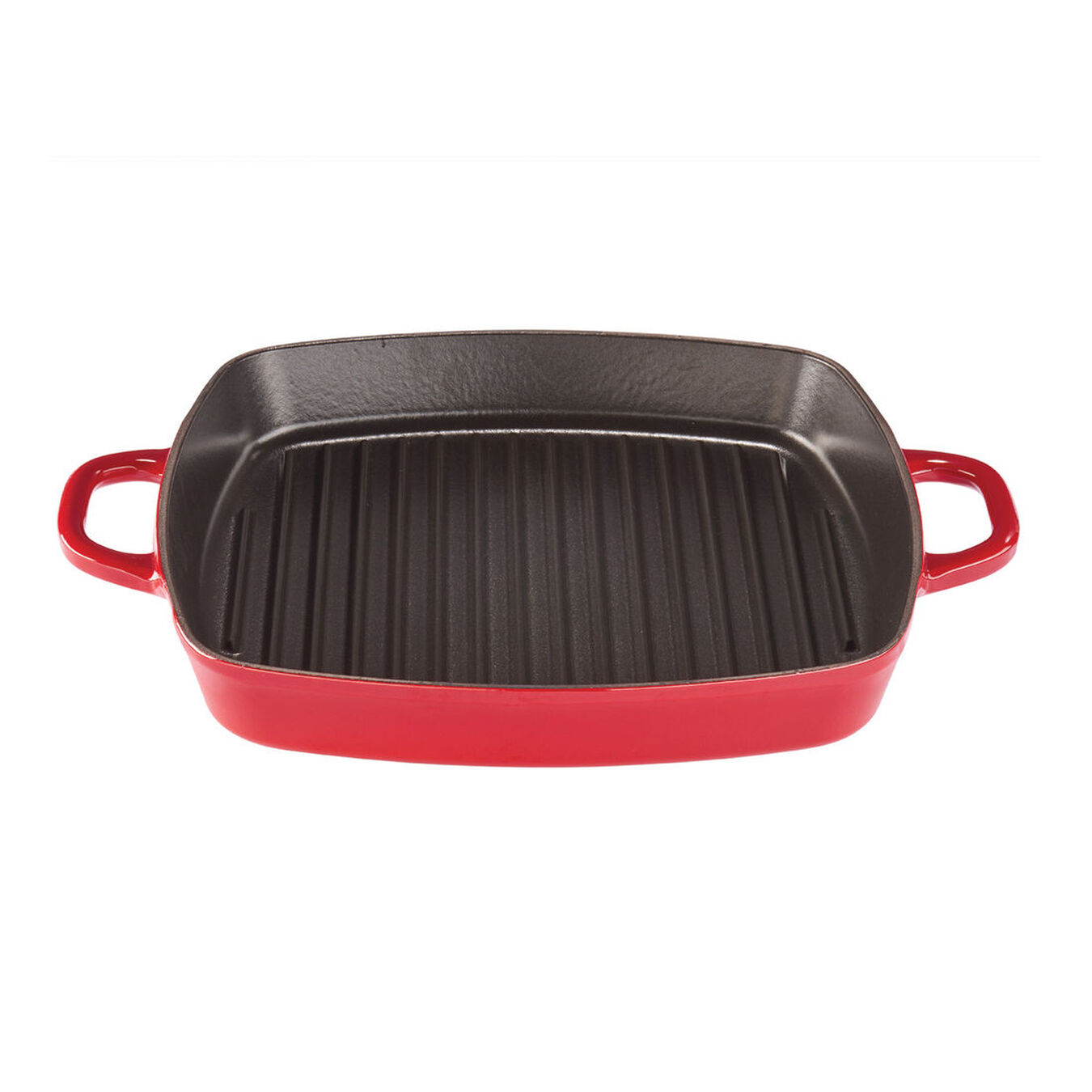 12-inch Square Grill Pan - Visual Imperfections - Cherry,,large 1