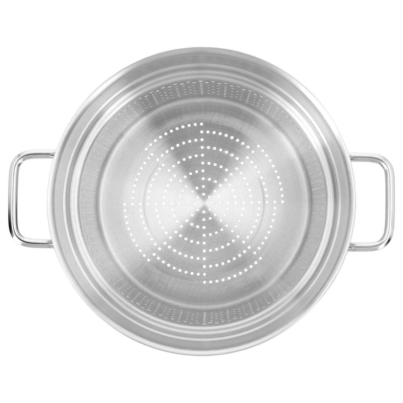 Nudeleinsatz, rund | 24 cm | Silber,,large 3