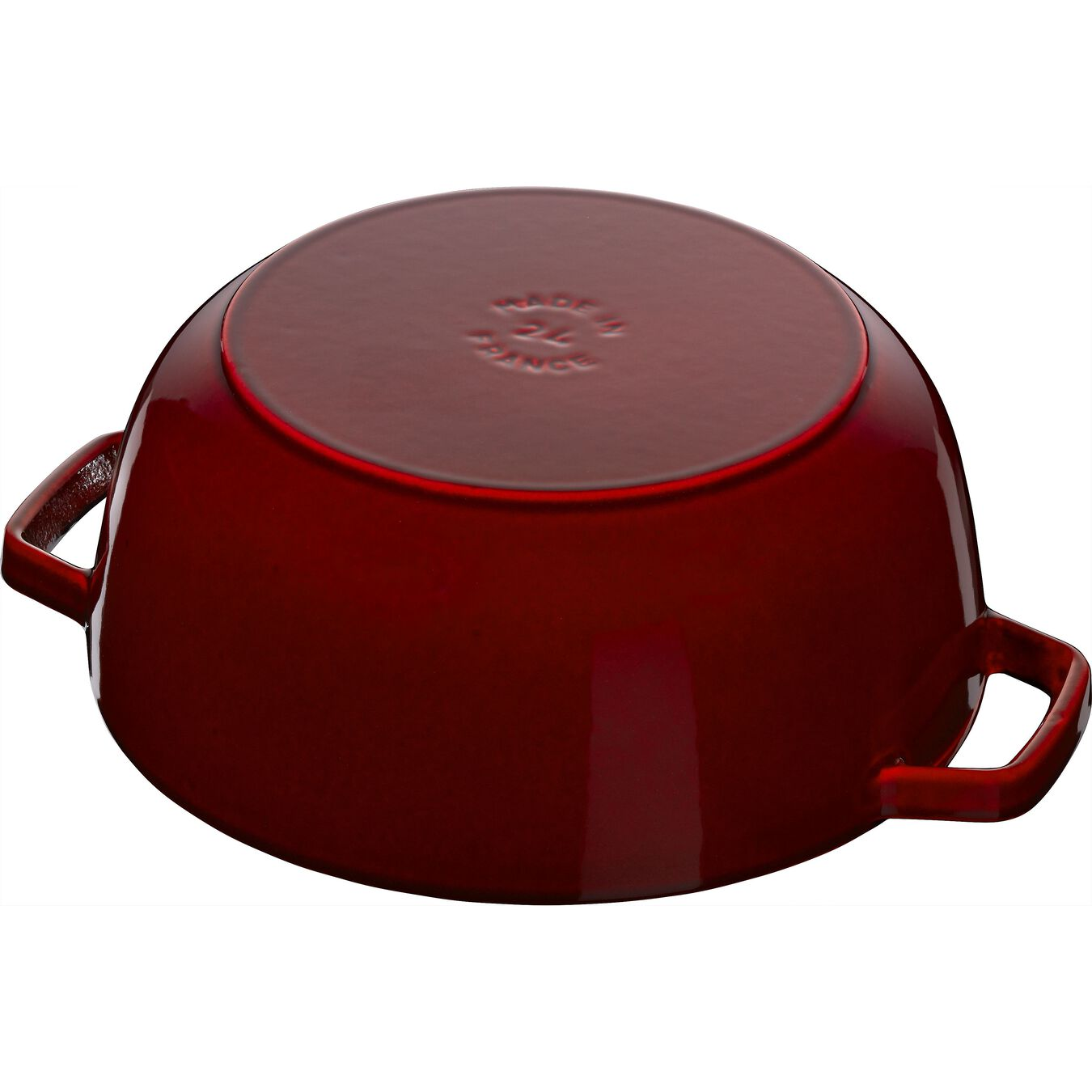 3.75 qt, Essential French Oven Lilly Lid, grenadine,,large 4