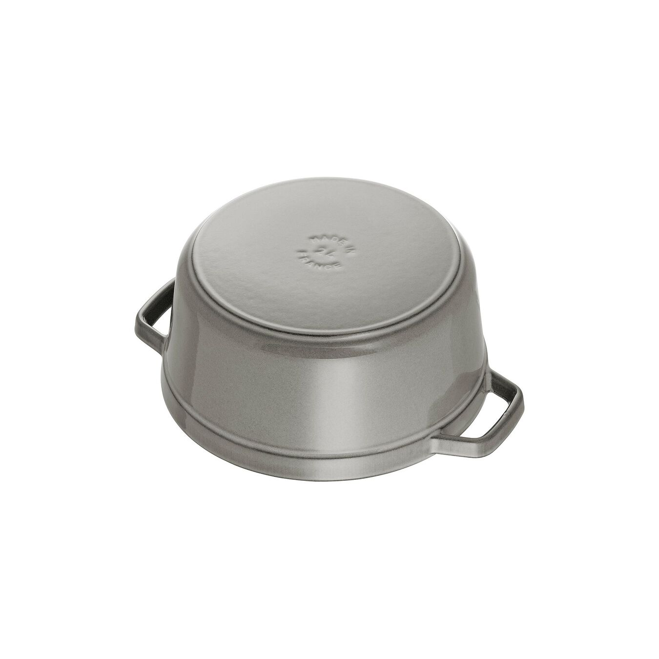 3.75 l Cast iron round Cocotte, Graphite-Grey - Visual Imperfections,,large 3