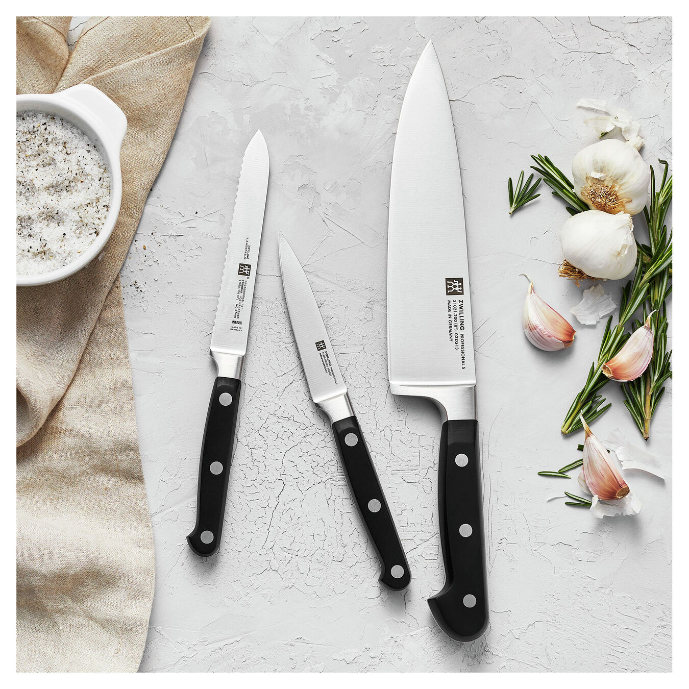 3-pc, Knife set,,large 7