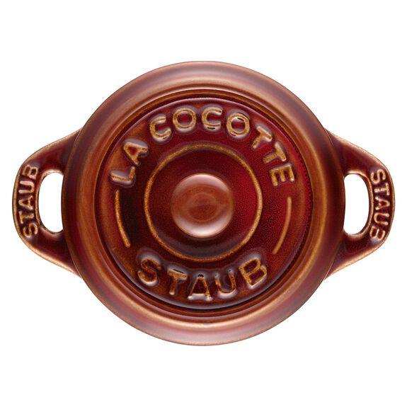 Mini seramik kap, 10 cm | Antik Bakır | Yuvarlak | Seramik,,large 6