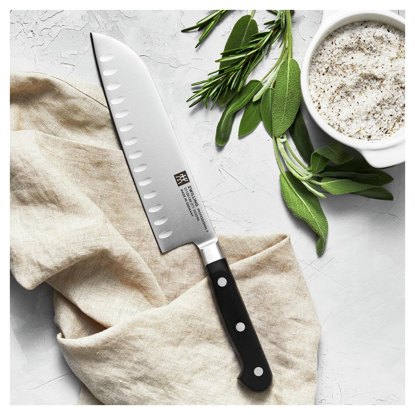 Santoku Bıçağı | Oluklu kenar | 18 cm,,large 3