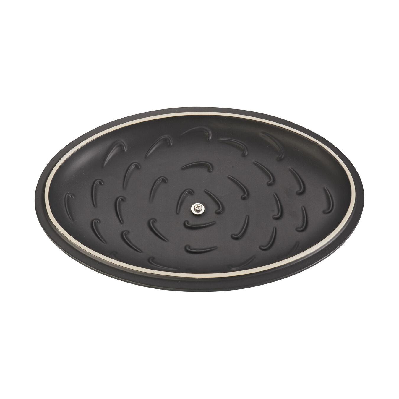 Special shape bakeware, black matte,,large 5