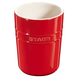 Staub Ceramics, Utensil Holder - Cherry
