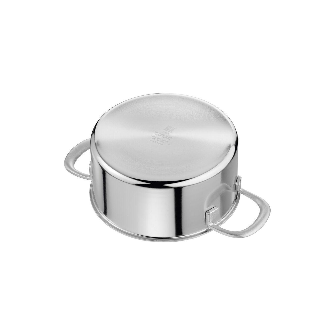 Casseruola - 16 cm, 18/10 acciaio inossidabile,,large 5
