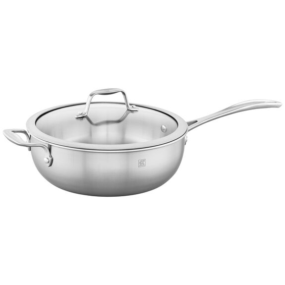 3-ply 4.6-qt Stainless Steel Perfect Pan,,large 3