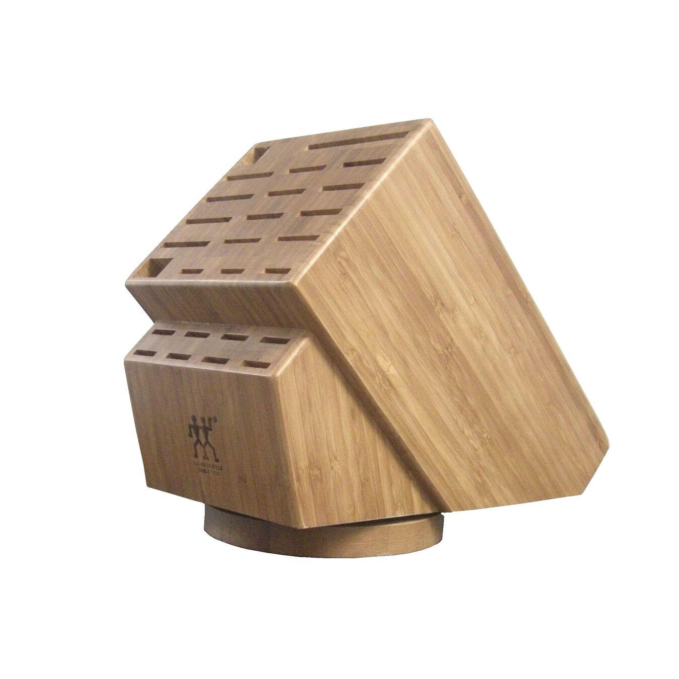 26-slot Bamboo Swivel Knife Block,,large 1