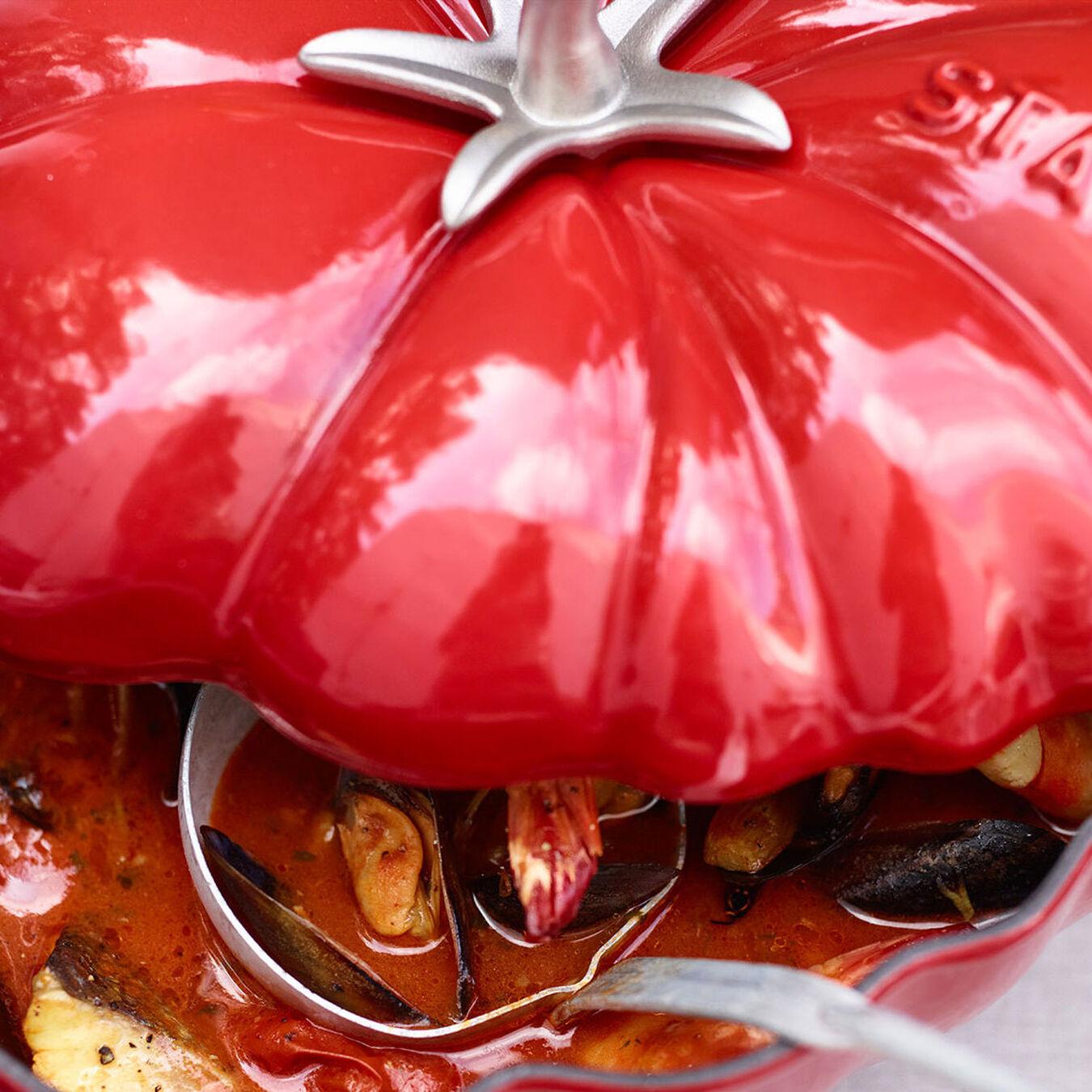 3-qt Tomato Cocotte - Cherry,,large 8