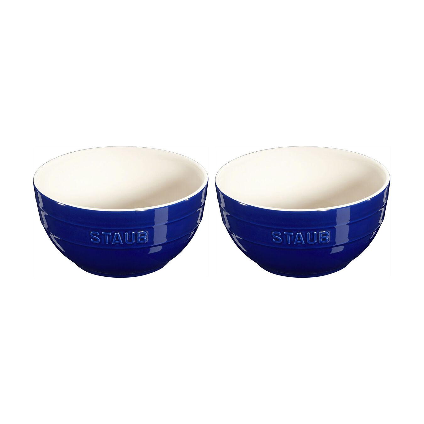 2-pc Large Universal Bowl Set - Dark Blue,,large 1