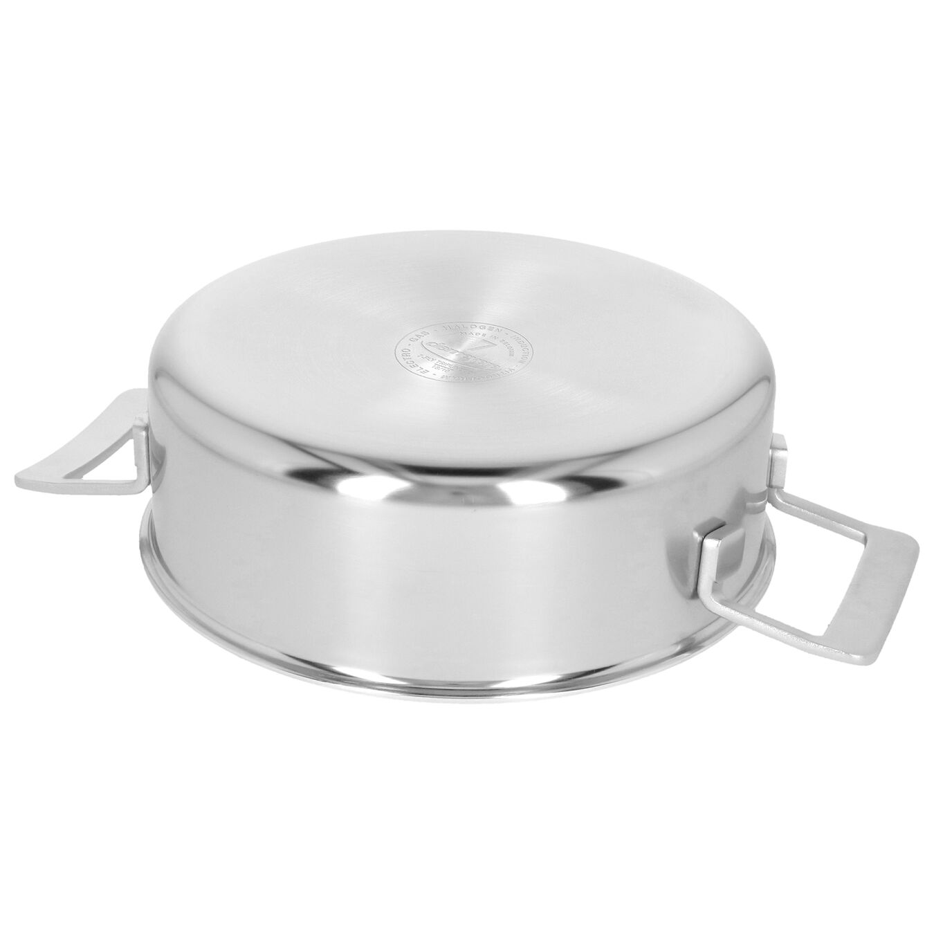 4 qt, 18/10 Stainless Steel, Stew pot with lid,,large 6