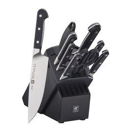 ZWILLING Pro, 10-pc, Knife block set, black matte