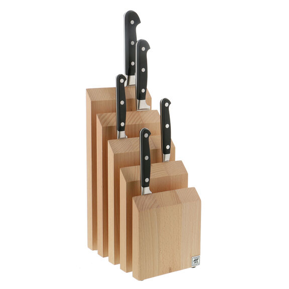 Knife block empty Wood,,large 2