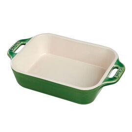 Staub Ceramique, rectangular, Special shape bakeware, basil