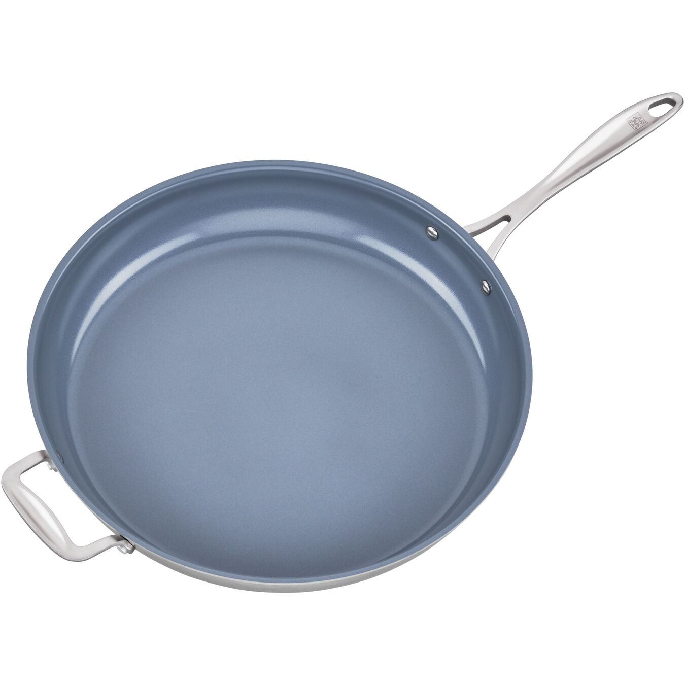 14-inch, 18/10 Stainless Steel, Non-stick, Frying pan,,large 4