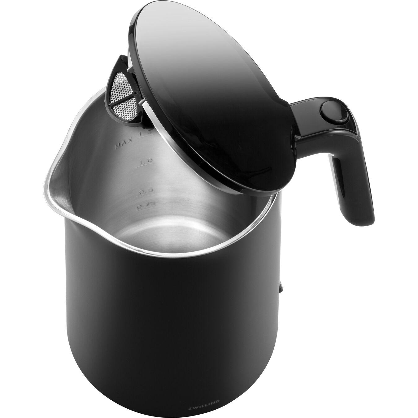 Wasserkocher, 1,5 l, Schwarz,,large 5