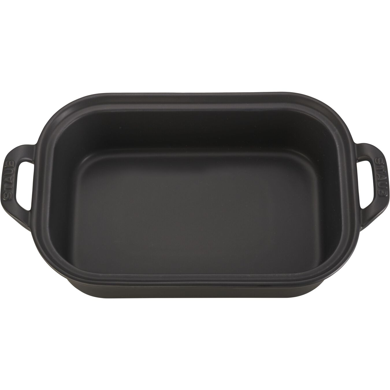 Ceramic rectangular Special shape bakeware, Black,,large 2