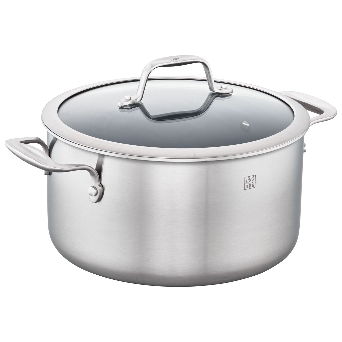 3-ply 6-qt Stainless Steel Ceramic Nonstick Dutch Oven,,large 1