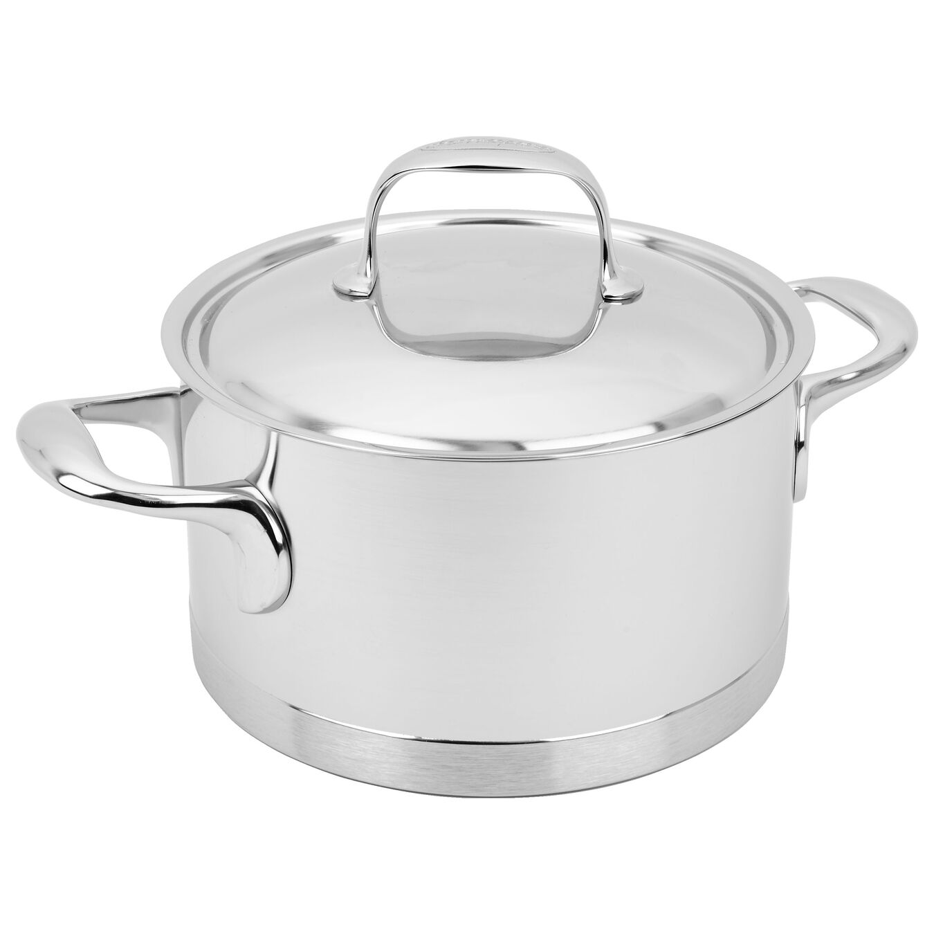 3 l 18/10 Stainless Steel Faitout with lid,,large 2