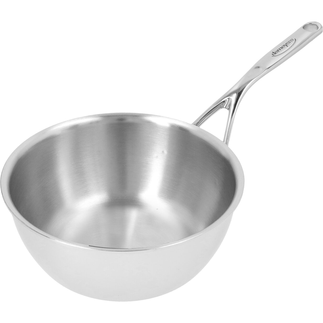 Sauteuse conique 22 cm, Inox 18/10,,large 3