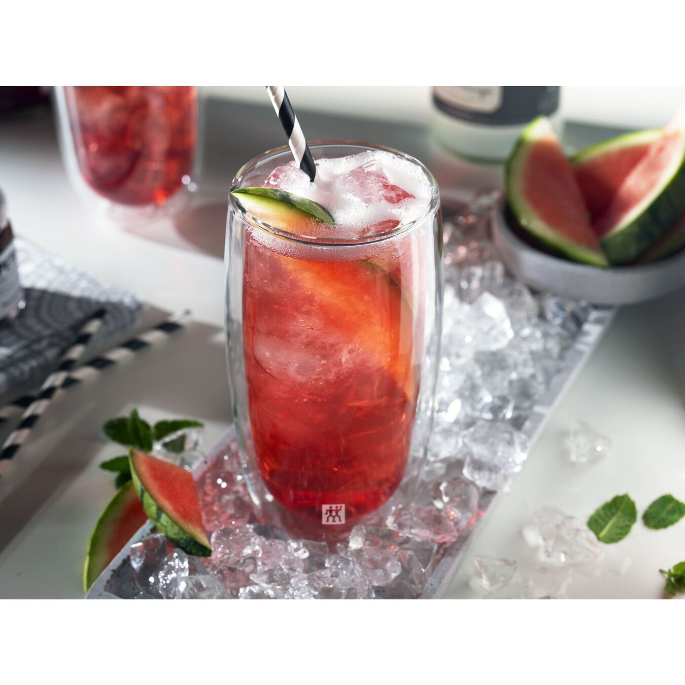 2 Piece Double-Wall Beverage Glass Set,,large 2